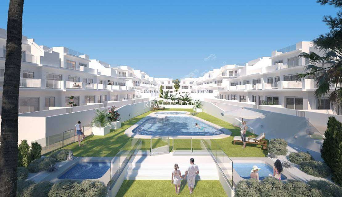 Apartment · New Build · Gran Alacant · Arenales