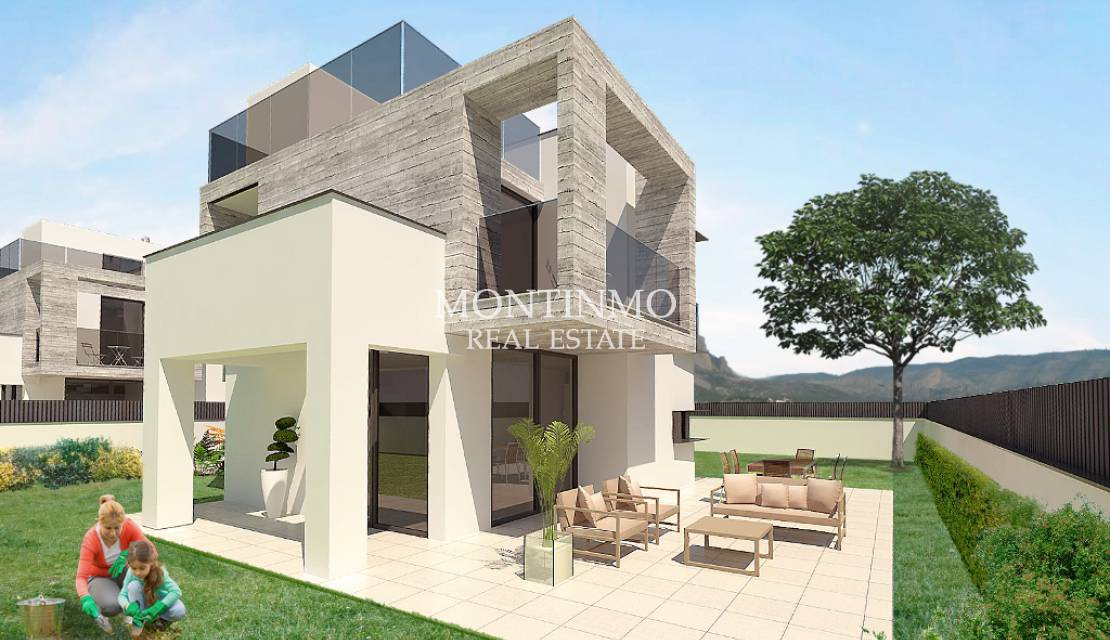 Villa · New Build · Benidorm · Polop