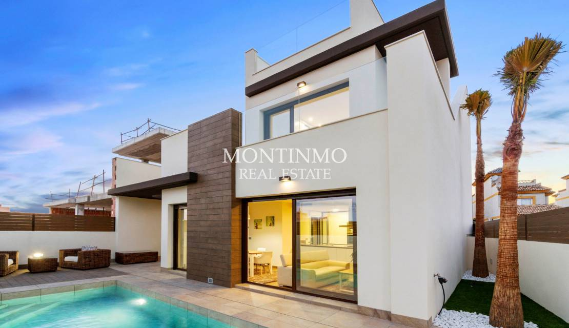 Villa · New Build · Los Montesinos · La Herrada
