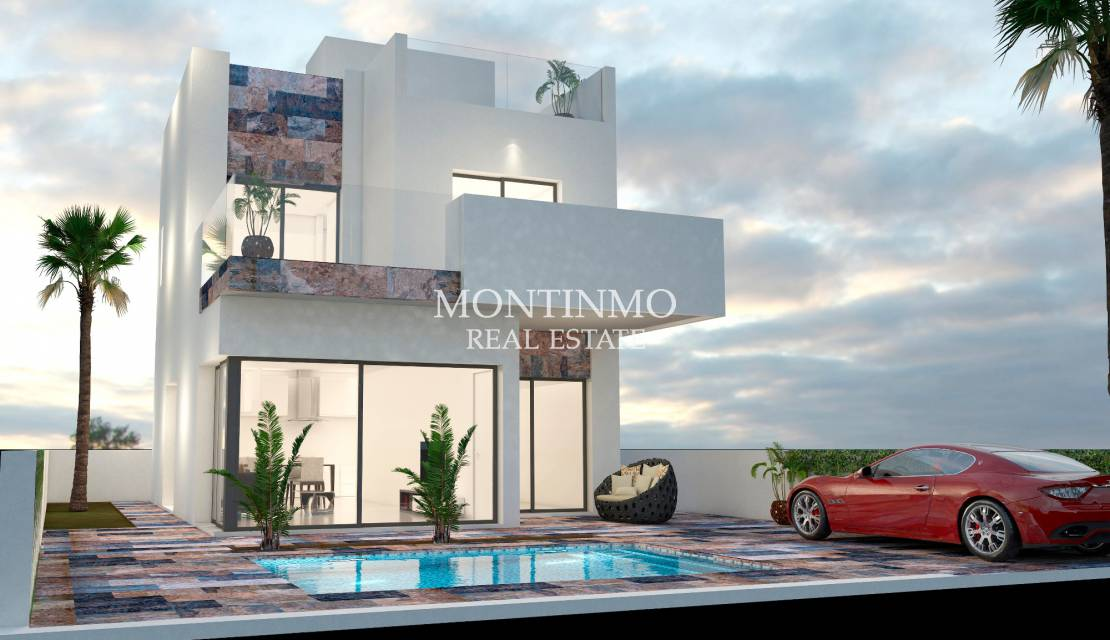 Villa · New Build · Orihuela Costa · Villamartin