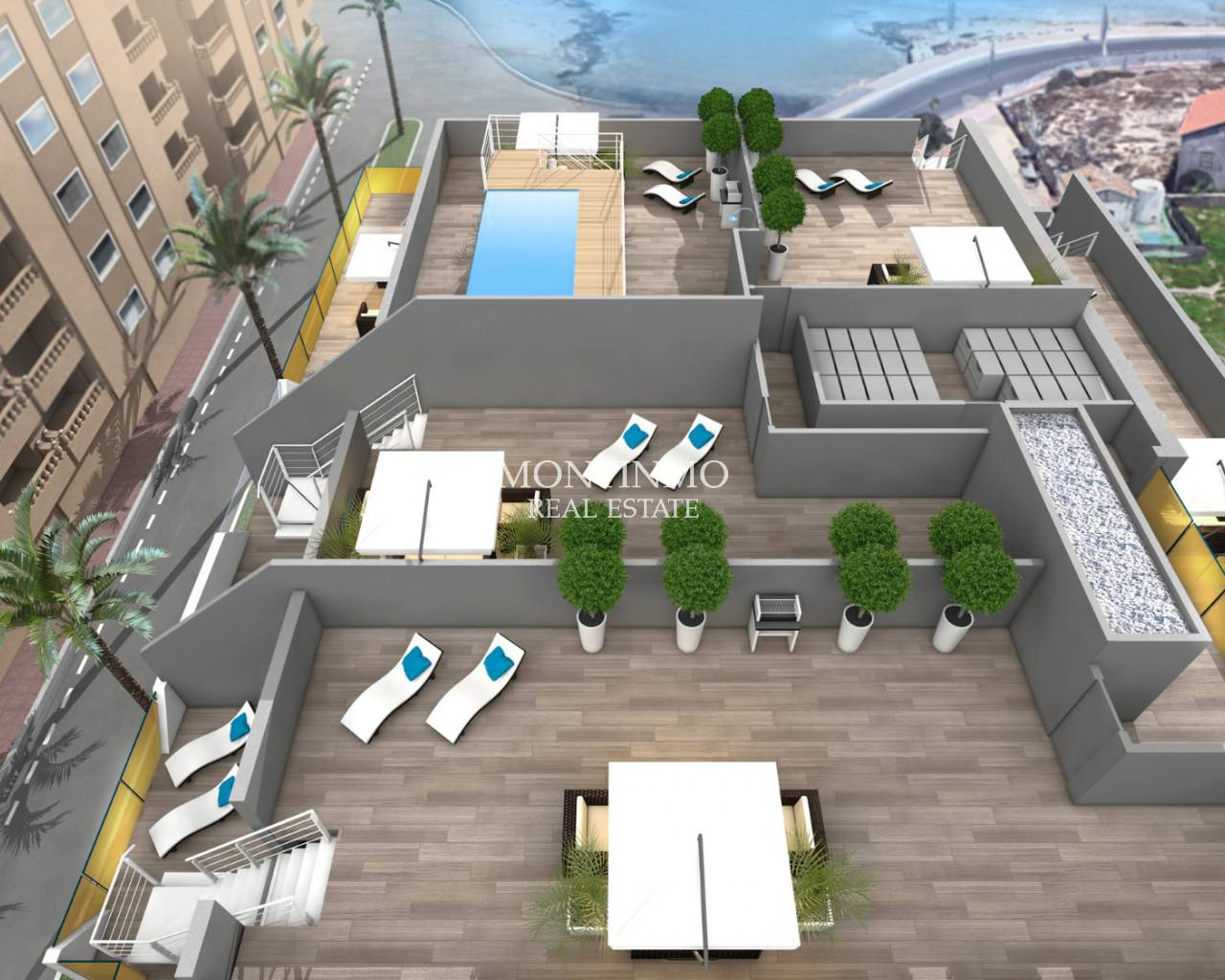 New Build - Appartement - Torrevieja - Playa de los Locos